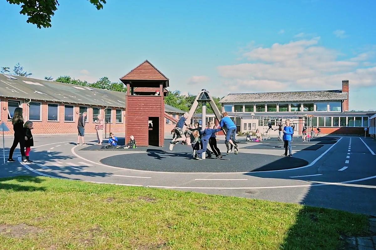 Skolegården