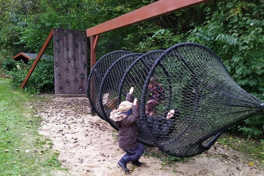 Børnehaven på tur